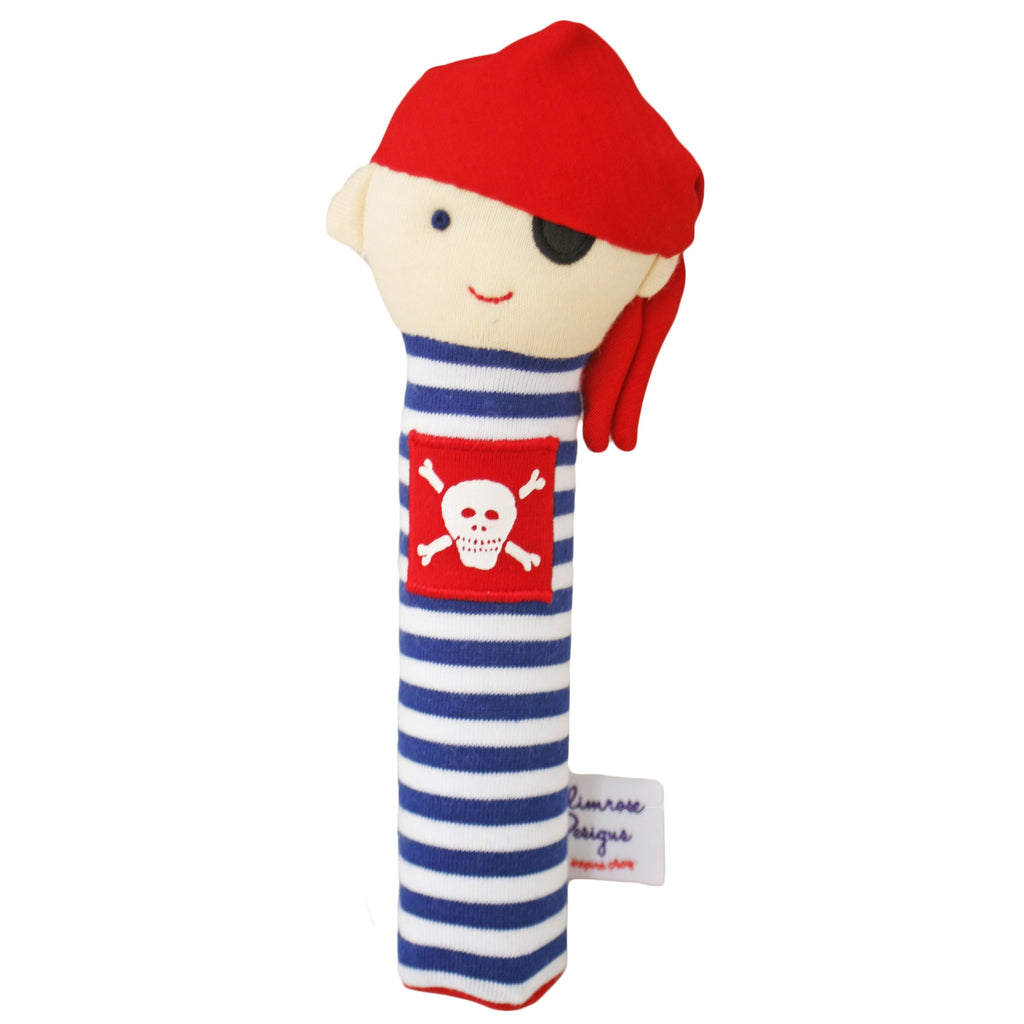 Pirate Squeaker (Navy Stripe)