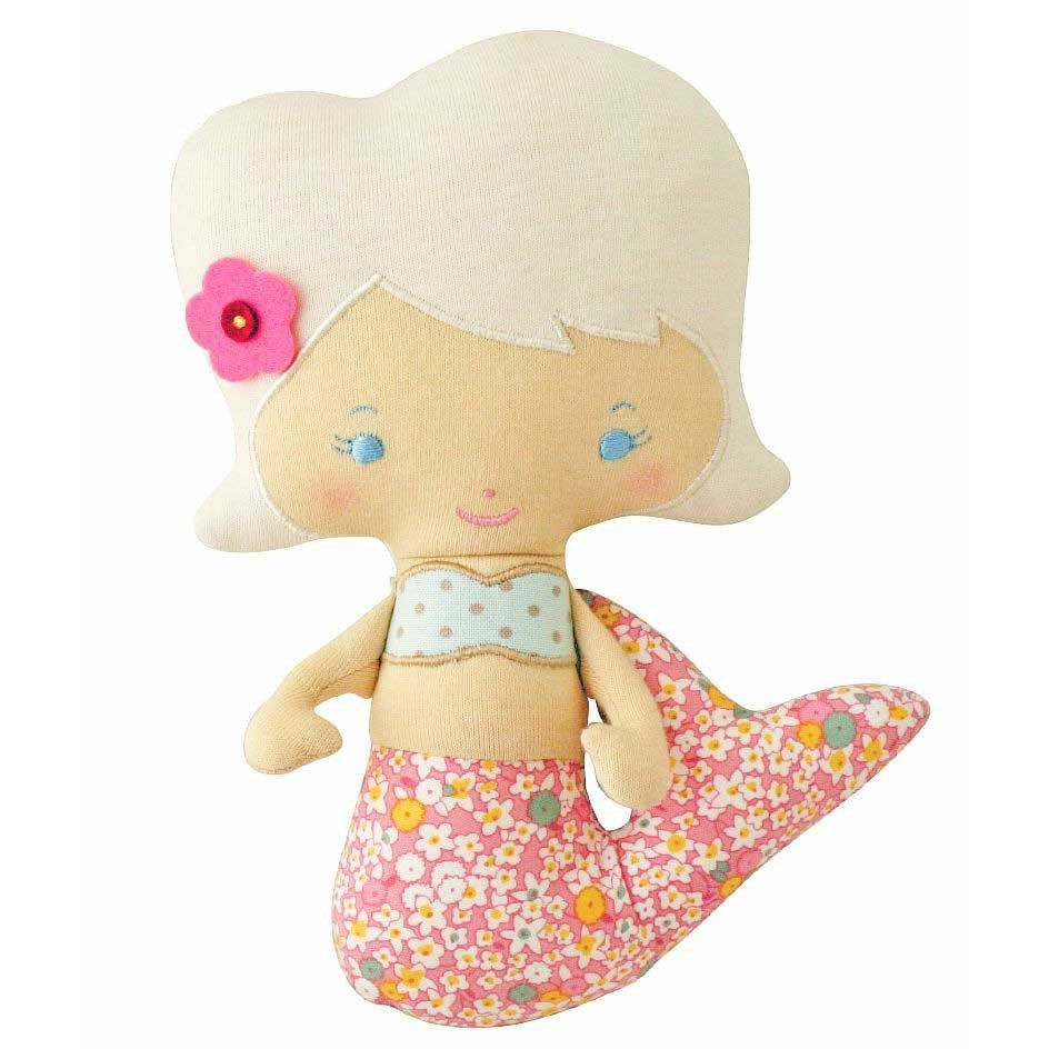 Mermaid Doll Rattle (Daisy Rose)
