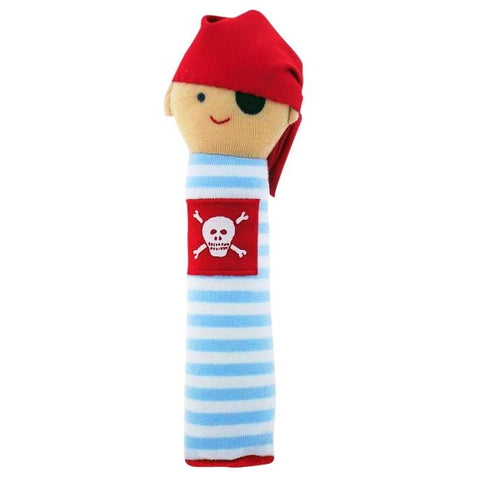 Pirate Squeaker (Pale Blue Stripe)