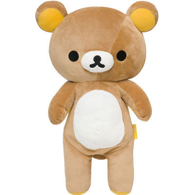 Rilakkuma Plush Cuddly Brown Bear - Medium