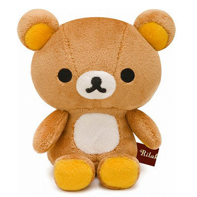 Rilakkuma Plush Cuddly Brown Bear - Small
