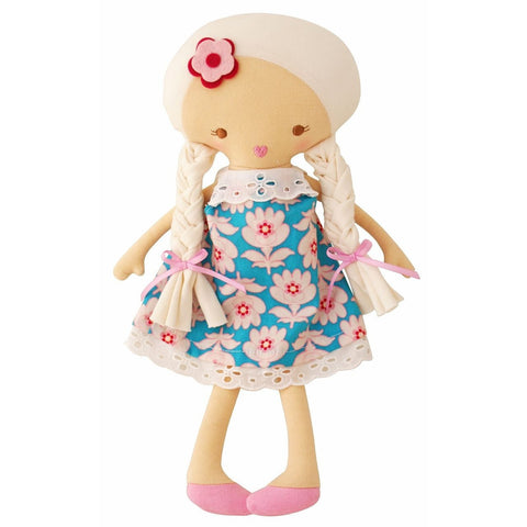Rosie Doll (Blue Blossom Dress)