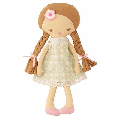 Rosie Doll (Green Print)