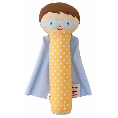 Super Hero Squeaker (Blue/Yellow)