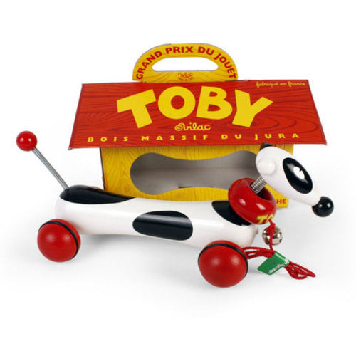 Toby the Wiener Dog Pull Toy