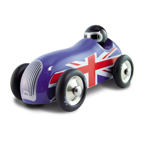 Union Jack Sports Car, Blue