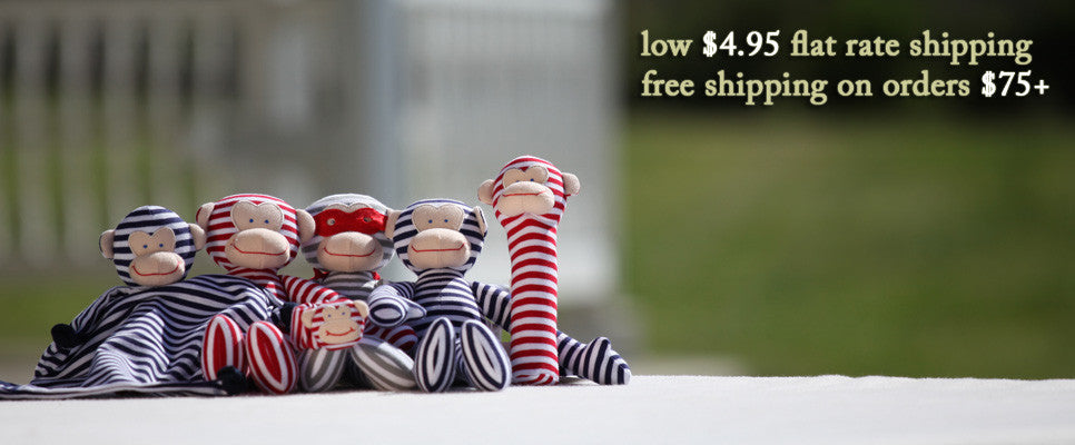 Alimrose Striped Monkey Collection