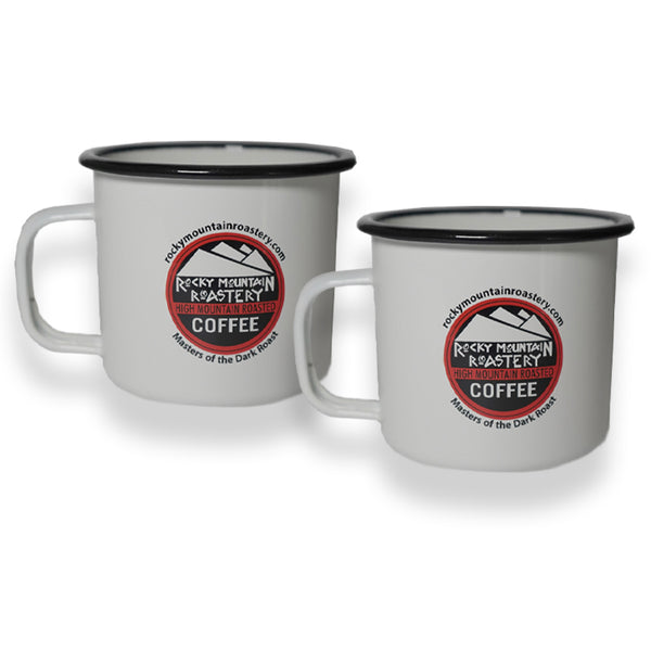 Custom Metal RMR Camp Mugs