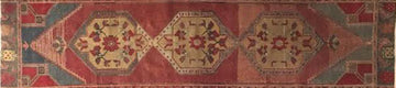 VINTAGE TURKISH RUG  2'5
