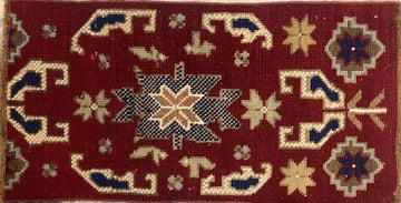 HANDMADE TURKISH YASTIK RUG 1'8