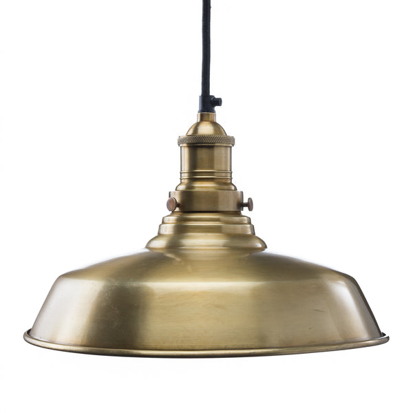 Classic Dome Shade - Brass
