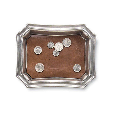 Pocket Tray with Leather Insert
