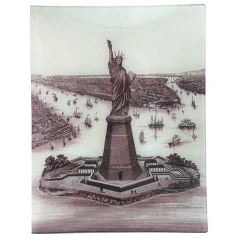 "NYC Lady Liberty 10 x 13"" Tray"