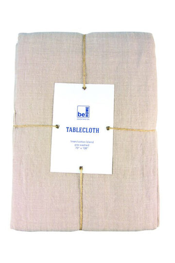 Linen Tablecloth Birch