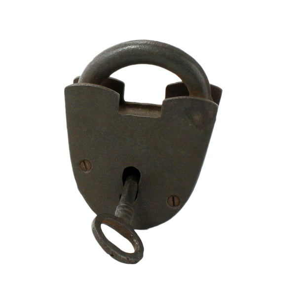 Cast Iron Lock & Key