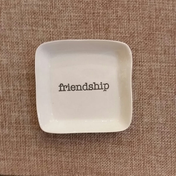 Square Dish | Friendship