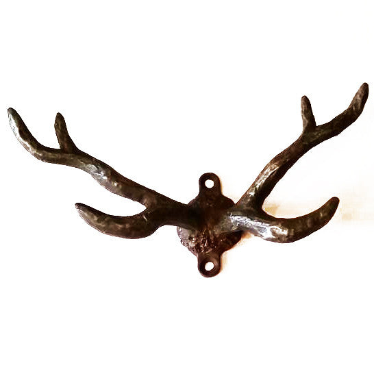 Pewter Antler Wall Hook