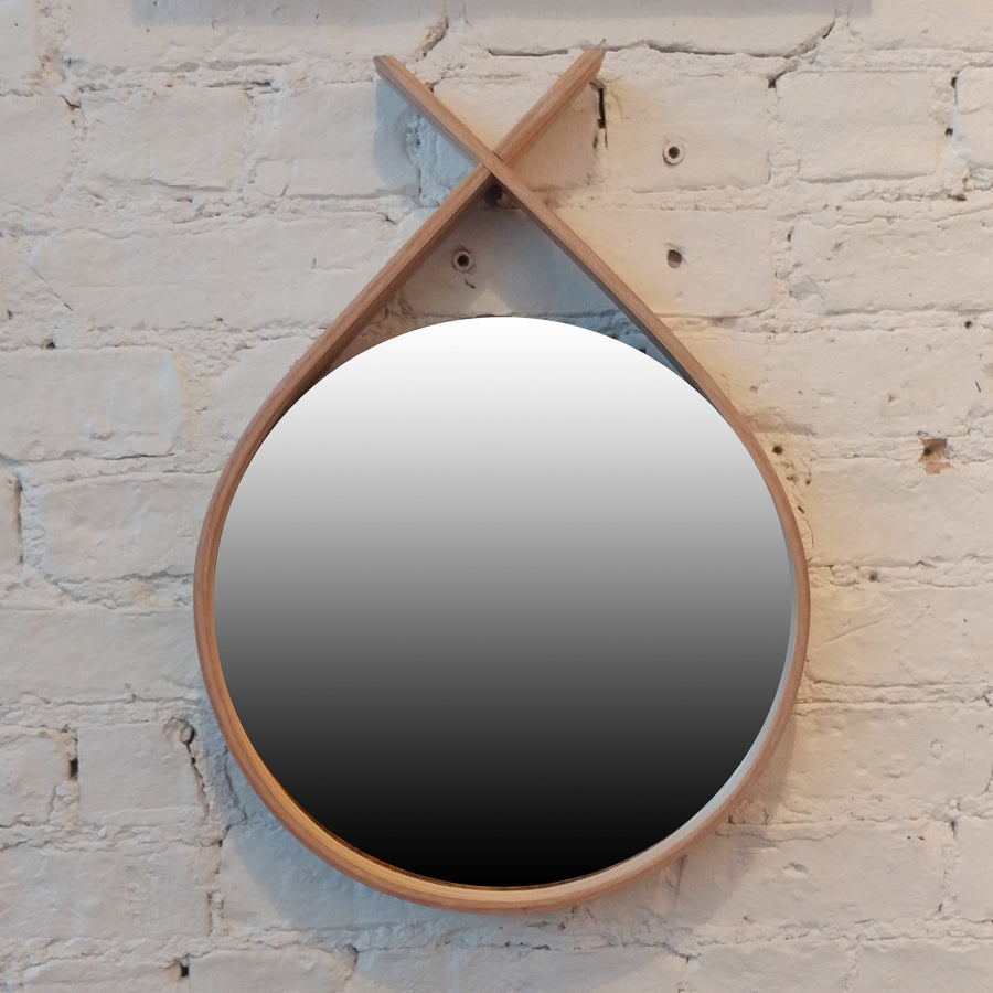 Steamed Wood Mirror (Small)