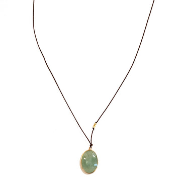 Emerald Necklace 14KT Necklace