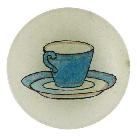 "Tea Cup 4"" Round"