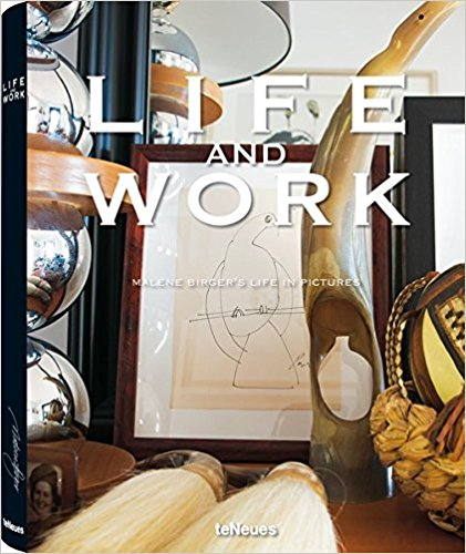"""Life and Work: Malene Birger's Life in Pictures"" Hardcover Book"