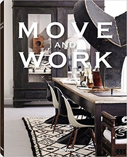 """Move and Work"" Hardcover Book"