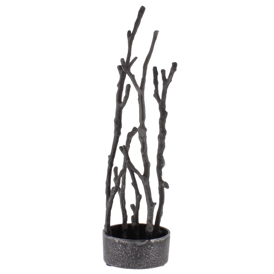 SCULPTURAL BRANCH VASE (ROUND BASE)