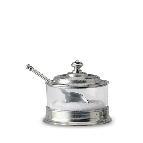 Jam Pot/Sugar Bowl with Spoon