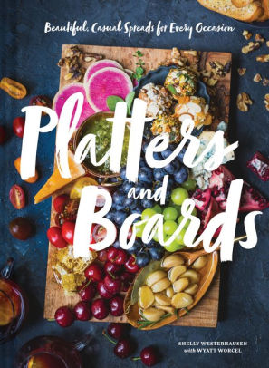 """Platters and Boards"" Hardcover Book"