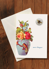 Greeting Card w/ Button