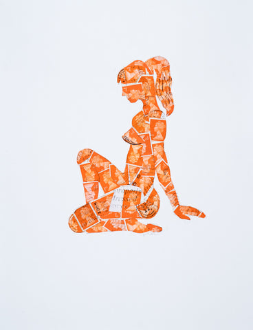 Stamp Ladies (Orange)