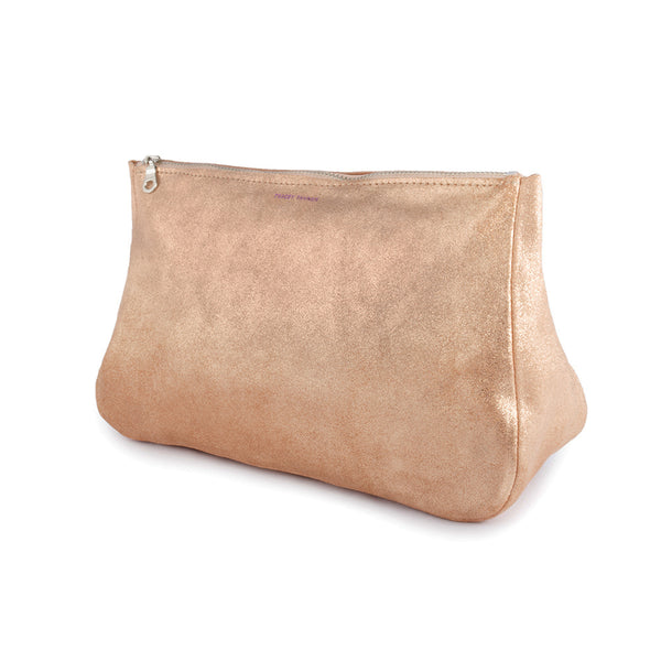 Large Fatty Pouch - Rose Gold Sparkle