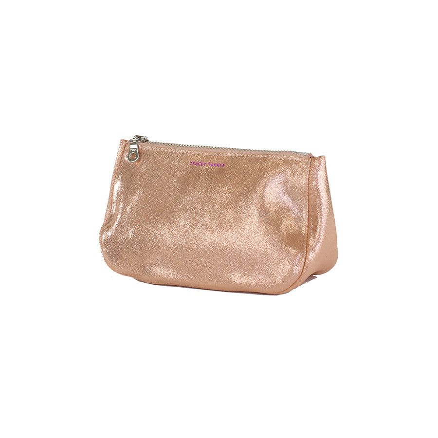Small Fatty Pouch - Rose Gold Sparkle