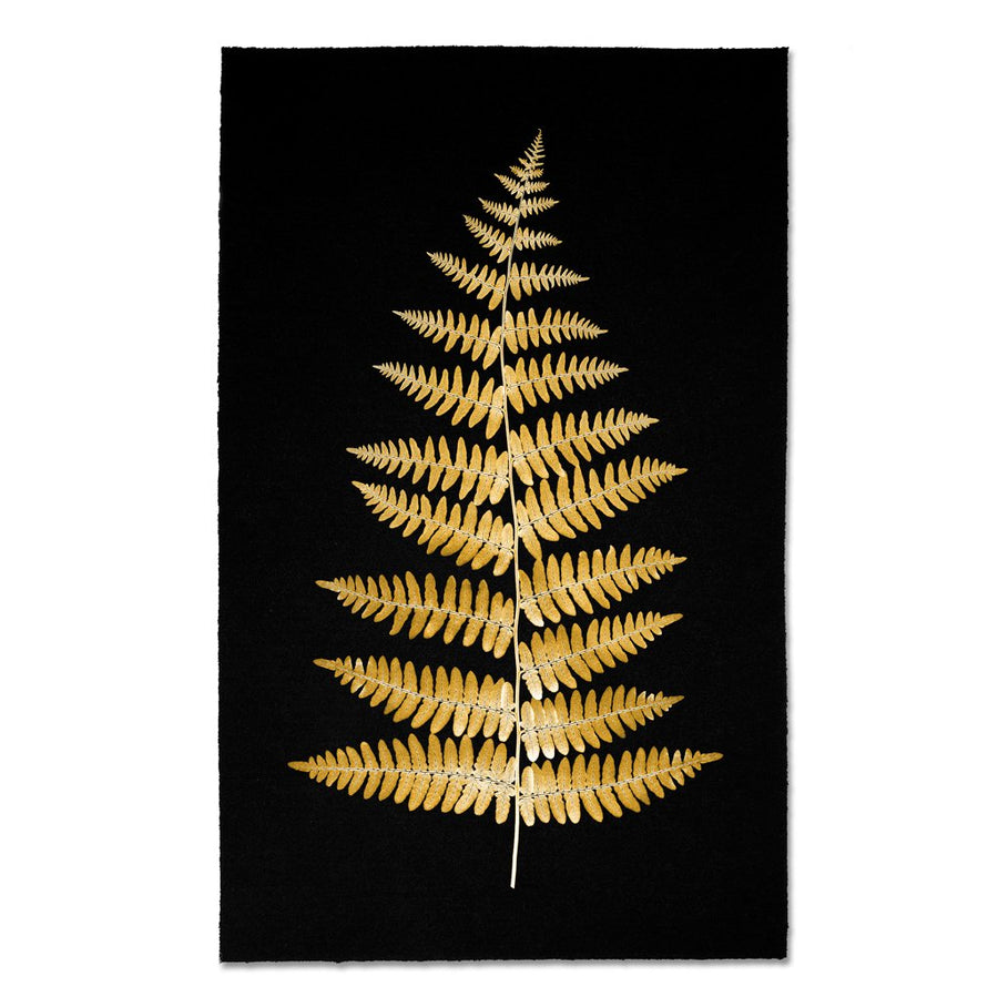 Golden Fern Print #11