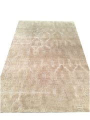 "Handmade Contemporary Rug 5'2""x7'11"""
