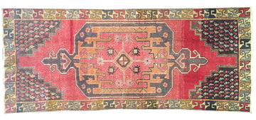 Vintage Turkish Rug 3'11