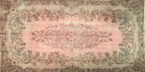 Vintage Overdyed Rug