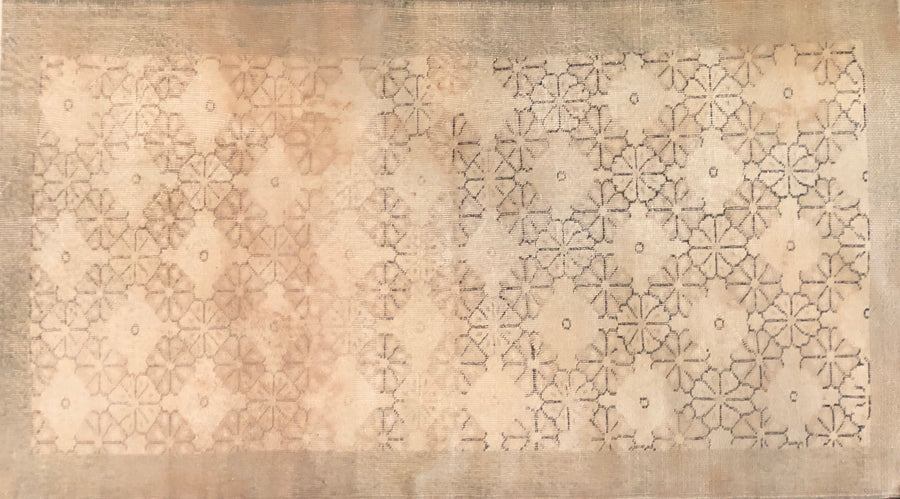 Art Deco Turkish Rug 3'8