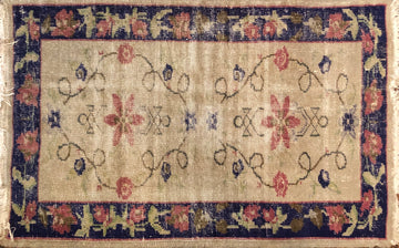 Vintage Turkish Rug 3'5