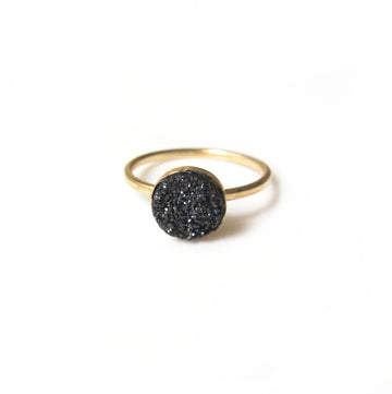Druzy Gemstone Ring