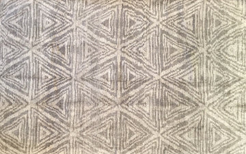 Handmade Contemporary Rug 5'2
