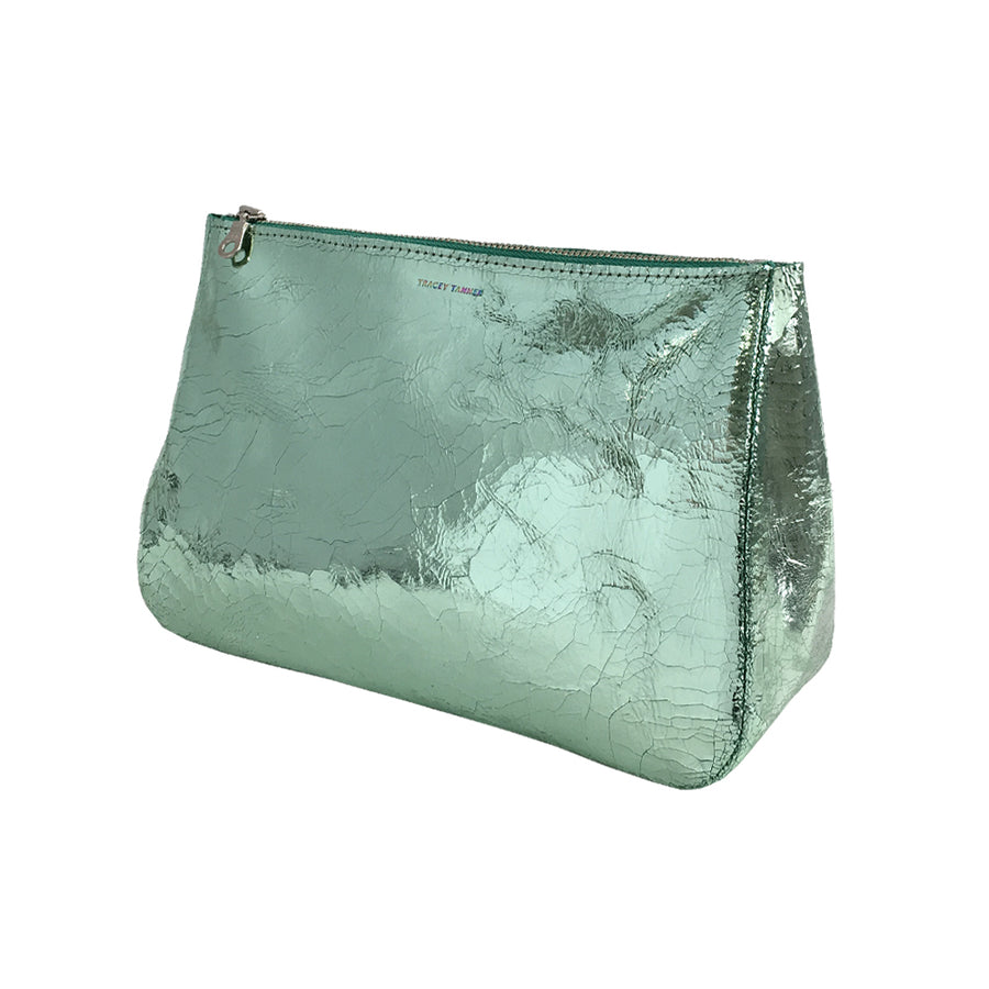 Large Fatty Pouch - Mint Foil