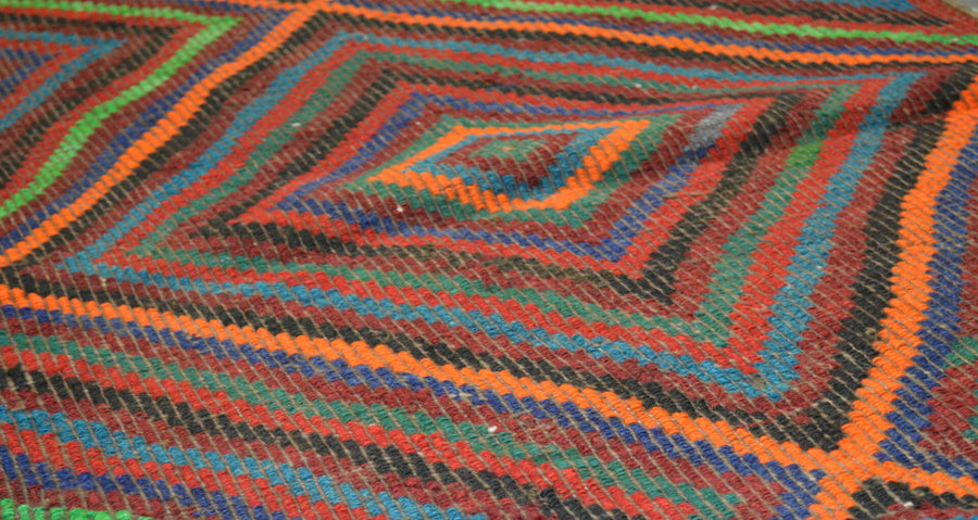 Vintage Turkish Kilim 2'8″x5'6″