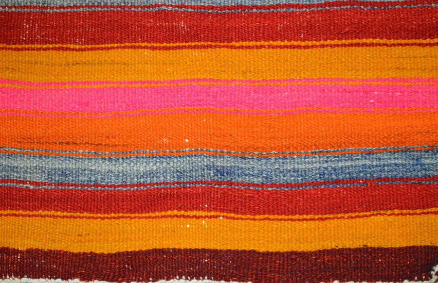 Vintage Turkish Kilim 3'7″x3'8″
