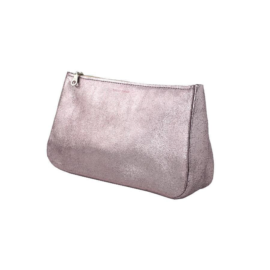 Medium Fatty Pouch - Sparkle Lavender with Peach