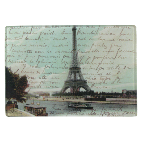 Paris Postcard Tray Decoupage