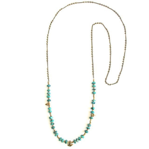 Santa Cruz Turquoise Necklace
