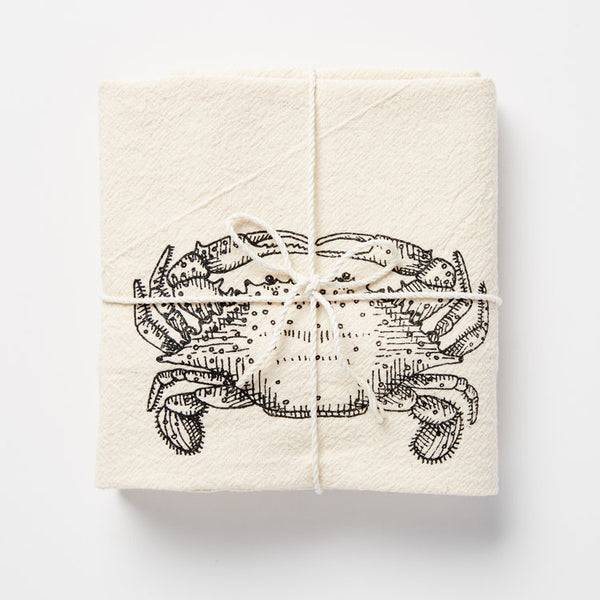 Crab Kitchen Towel