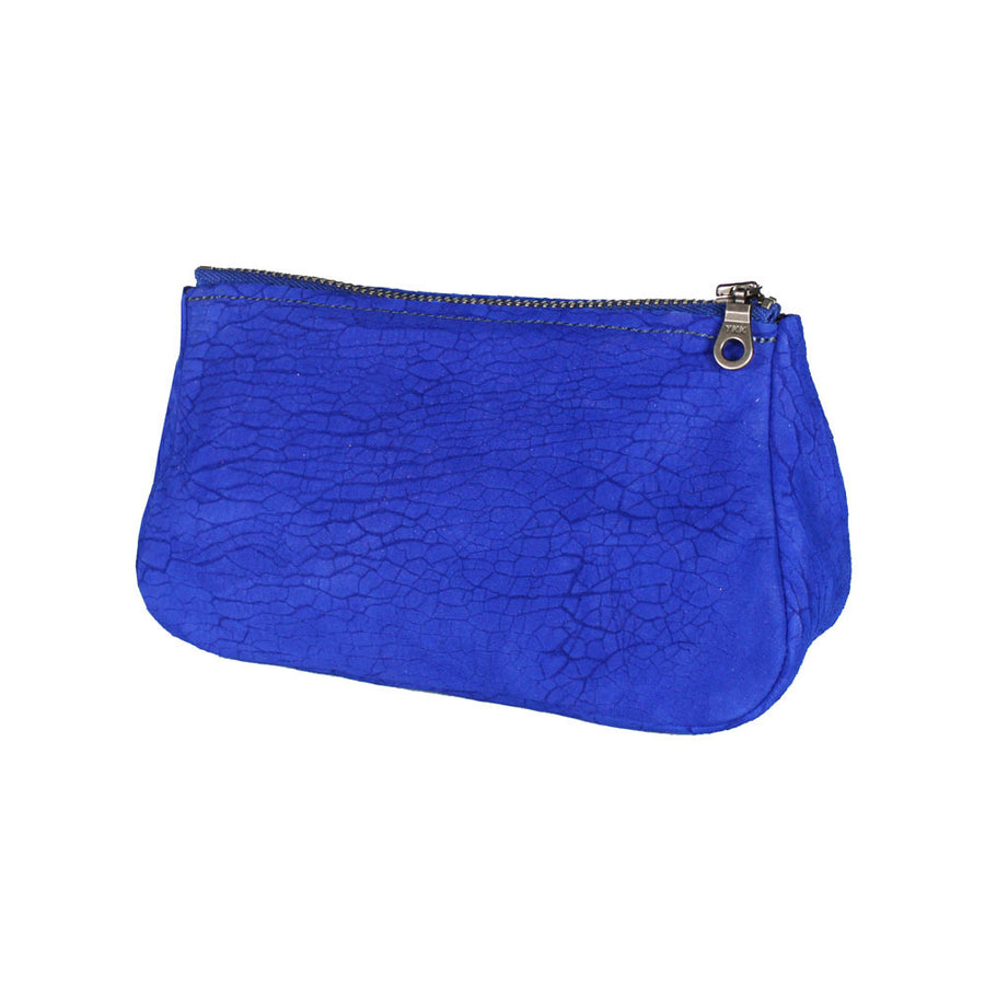 Small Fatty Pouch - Cobalt Distressed