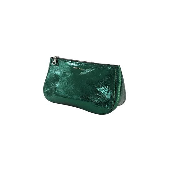Small Fatty Pouch - Foil Emerald